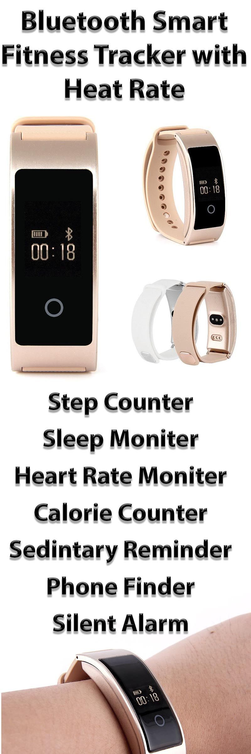 This fitness tracker has all the features you want at a price you will love. Count steps, monitor sleep, monitor heart rate, calculate calories and more! www.wellvoo.ca