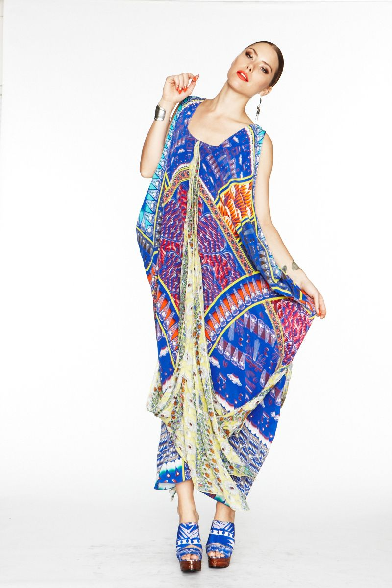 Camilla rhodes maxi dress