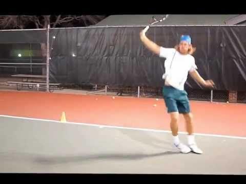 Tennis drills - forehand, backhand, quick feet - http://sports.airgin.org/tennis/tennis-drills-forehand-backhand-quick-feet/