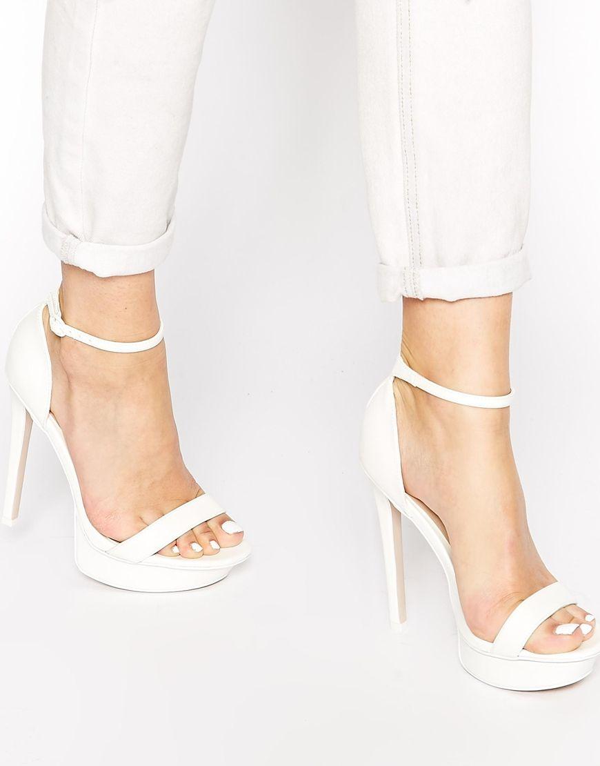 Buy Women Shoes / Asos High Cross Heeled Sandals