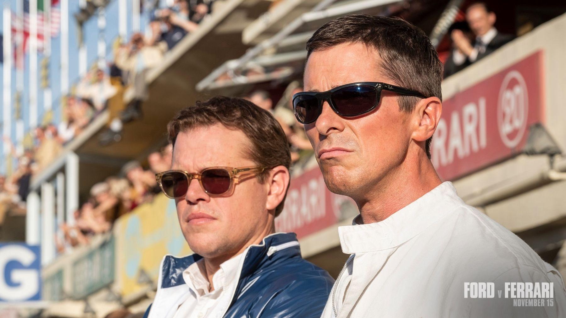 What Sunglasses Is Matt Damon Wearing In Ford V Ferrari With