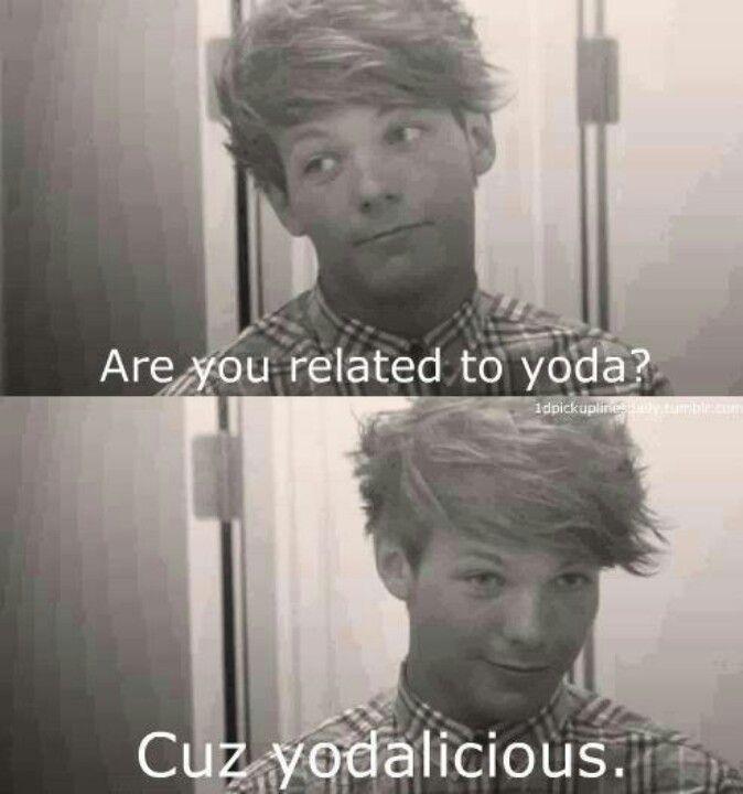 Yoda pick up lines