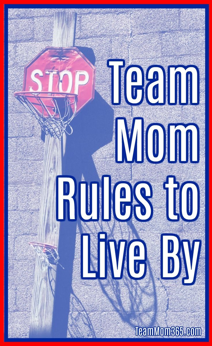 Team Mom Rules To Live By Teammom Sportsmom Rules Team Mom Softball Team Mom Team Mom Baseball