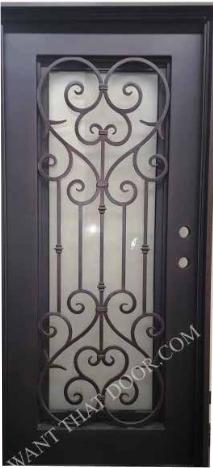 Vatican Square Single Iron Door Universal Iron Doors In 2020 Iron Doors Iron Door Design Contemporary Entry Doors