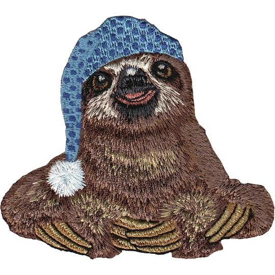 C&d Visionary® Animal Club IronOn Applique Patch, Sloth