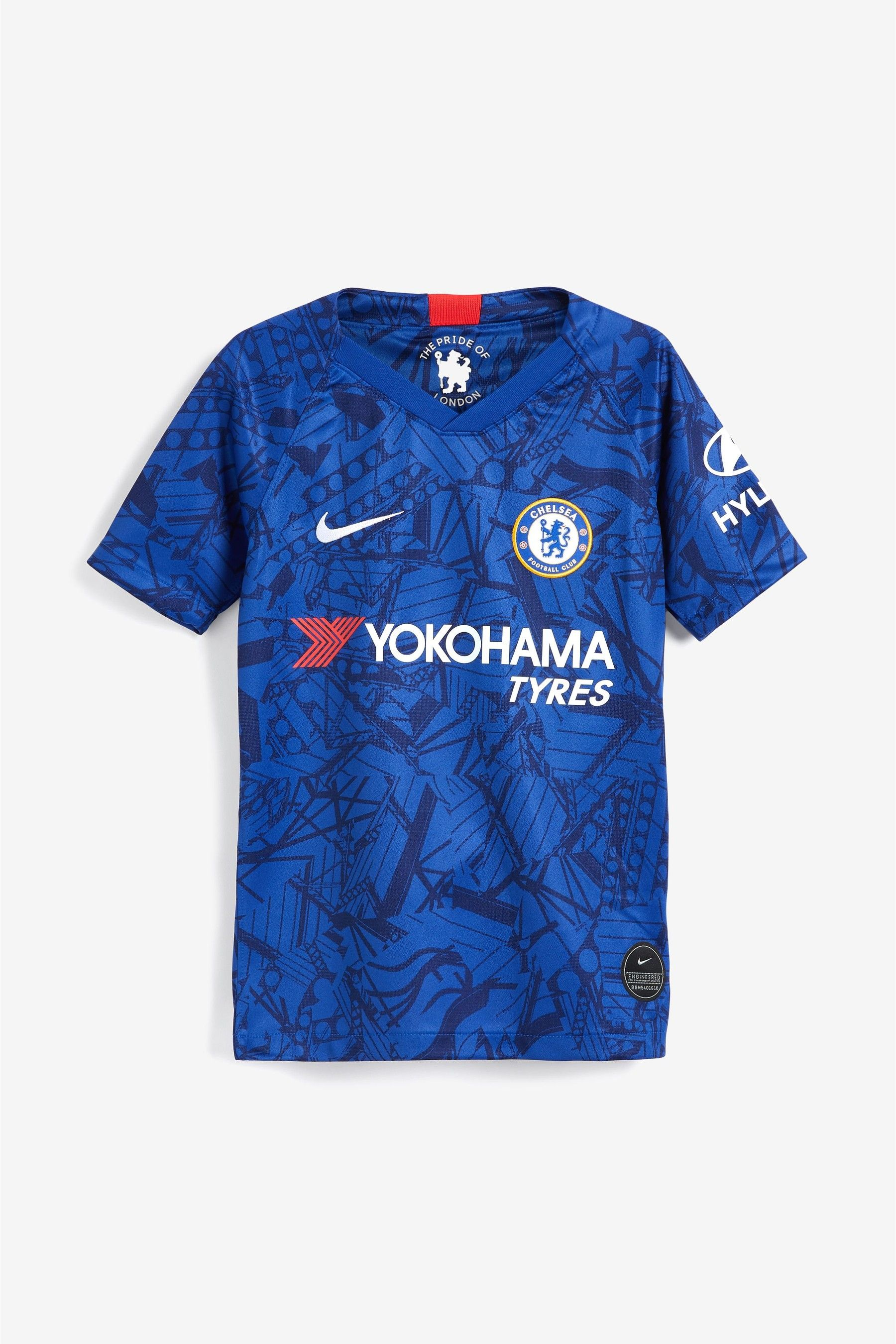 Boys Nike Youth Blue Chelsea Football Club 2019 2020 Home Jersey