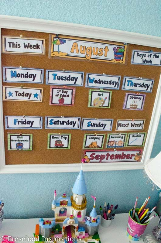 The Perfect First Calendar for the Home or Classroom ...