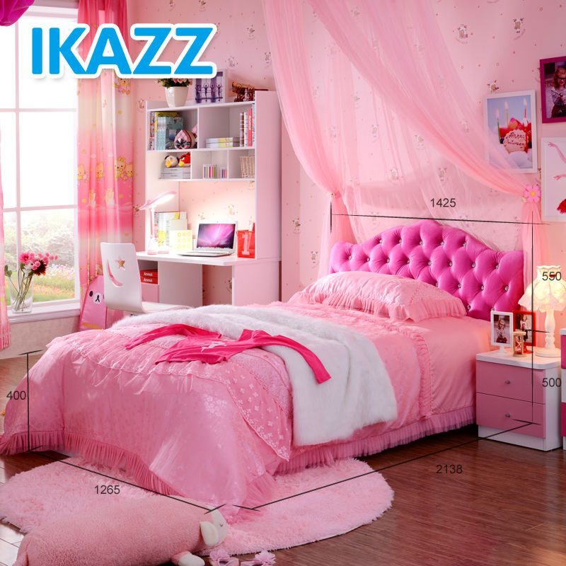 Girly Princess Bedroom Ideas: Princess Bed For Children,princess Bed Set,girls Princess