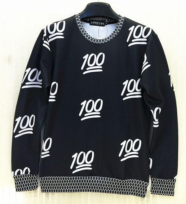 Couture New 100 style emoji printed women/men/boy/girl hoodie casual sweatshirt cute cartoon hoody sweat suit sportwear crewneck(China (Mainland))