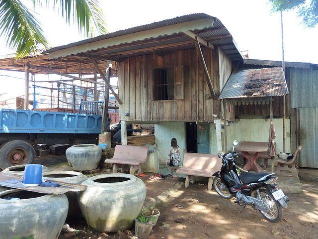 Local Home - rural Cambodia Rural Home Outdoor decor