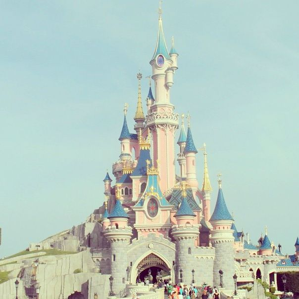 Disney ♡ NO STINKIN WAY! We had the castle with our polypockets!! I never realized thats what it was!!