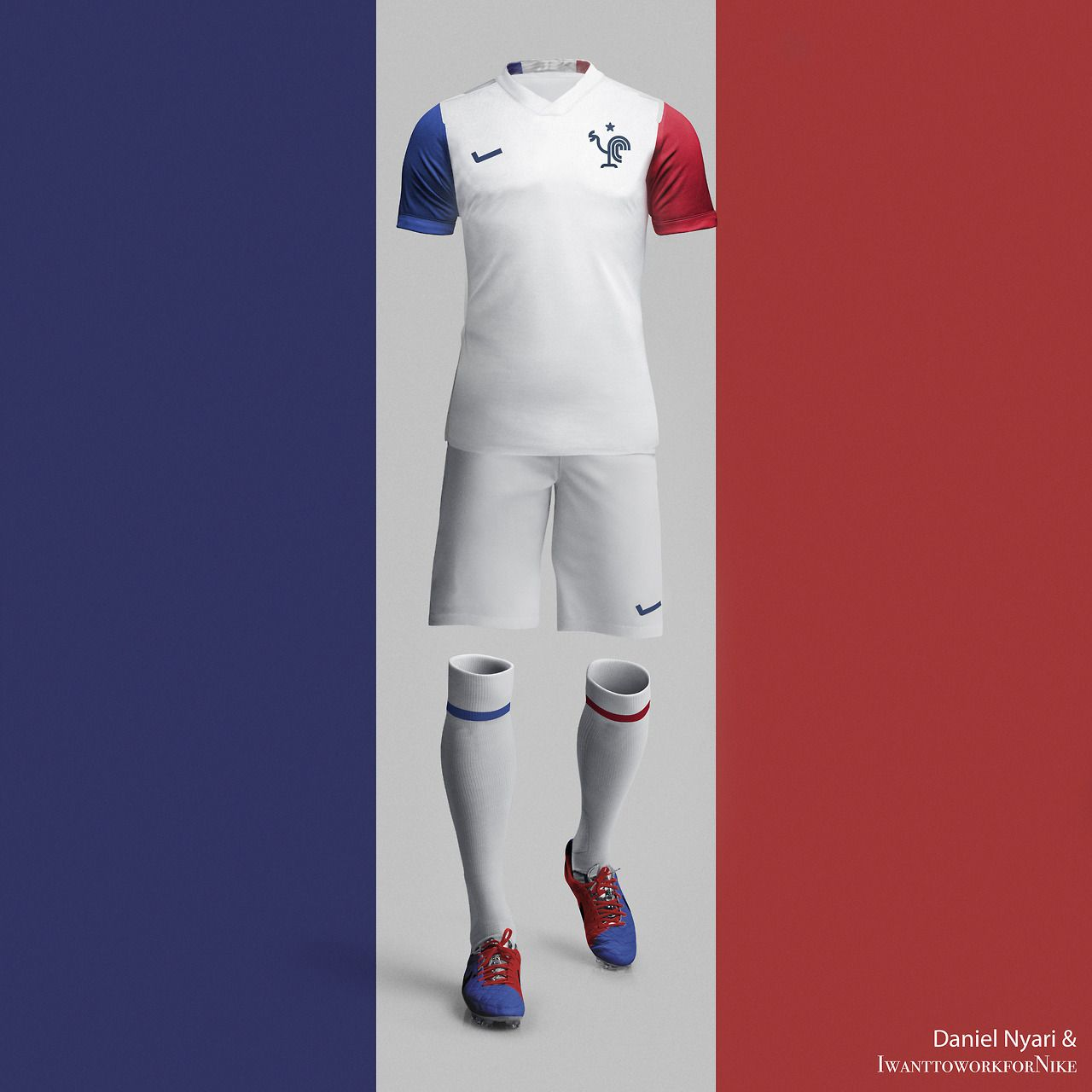 So happy that #France won. And very lucky to cooperate with Mr. @danielnyari using his crest design. Thanks!