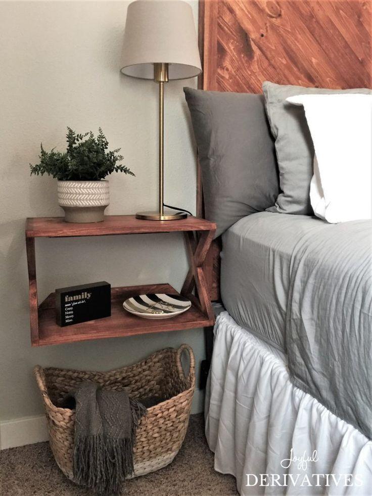 Modern Rustic Master Bedroom Makeover - #Bedroom #Makeover #Master #Modern #Rustic #modernrusticbedroom