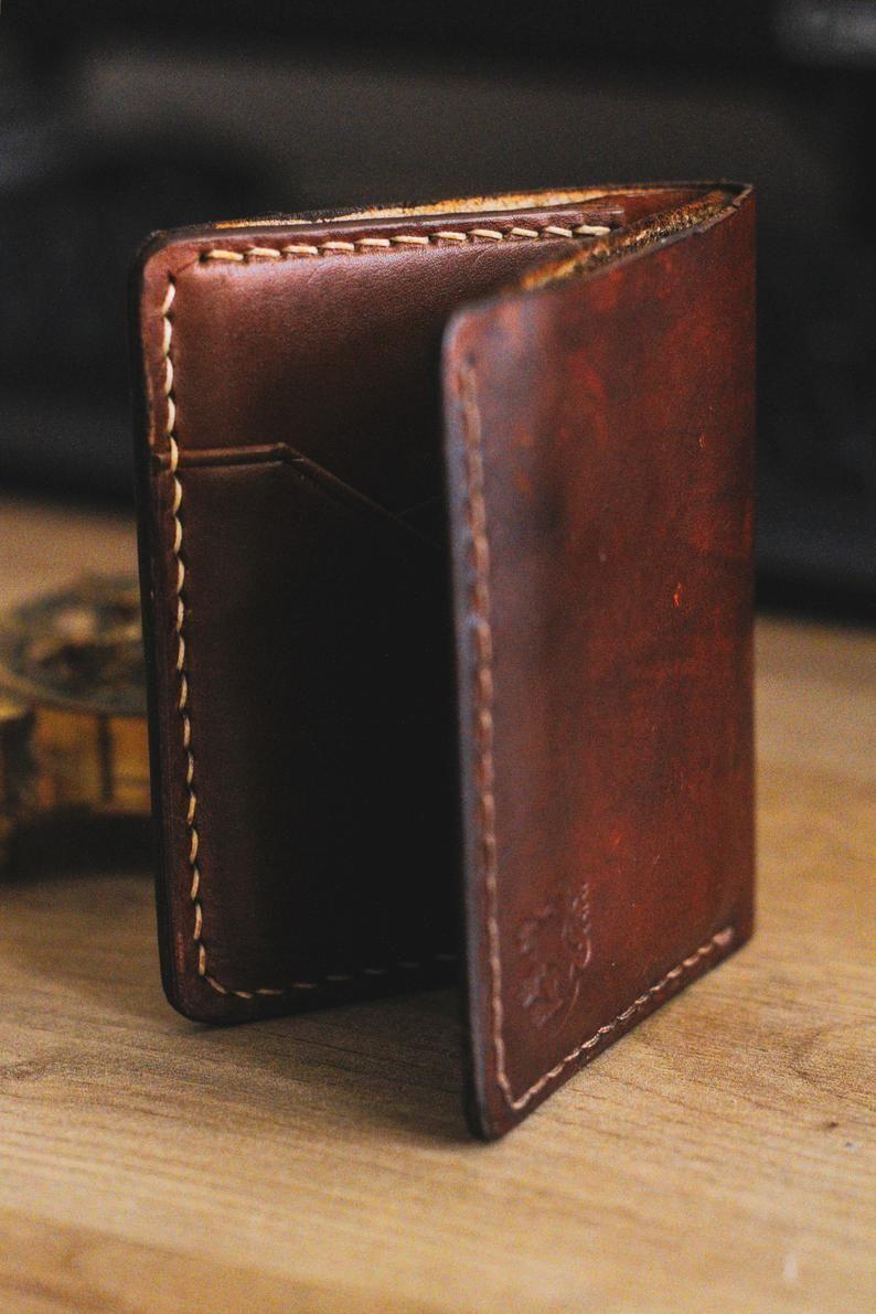 Leather Wallet, Wallets for Men, Slim Wallet, Men wallet, Mens leather  wallet, Antique Brown, Annive   Portefeuille cuir, Portefeuille pour homme,  Cadeaux en cuir