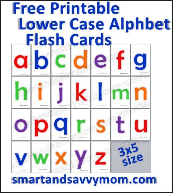 Lowercase Alphabet Flash Cards Free Printable Alphabet Flashcards Flashcards Abc Flashcards Alphabet flashcards for kindergarten pdf