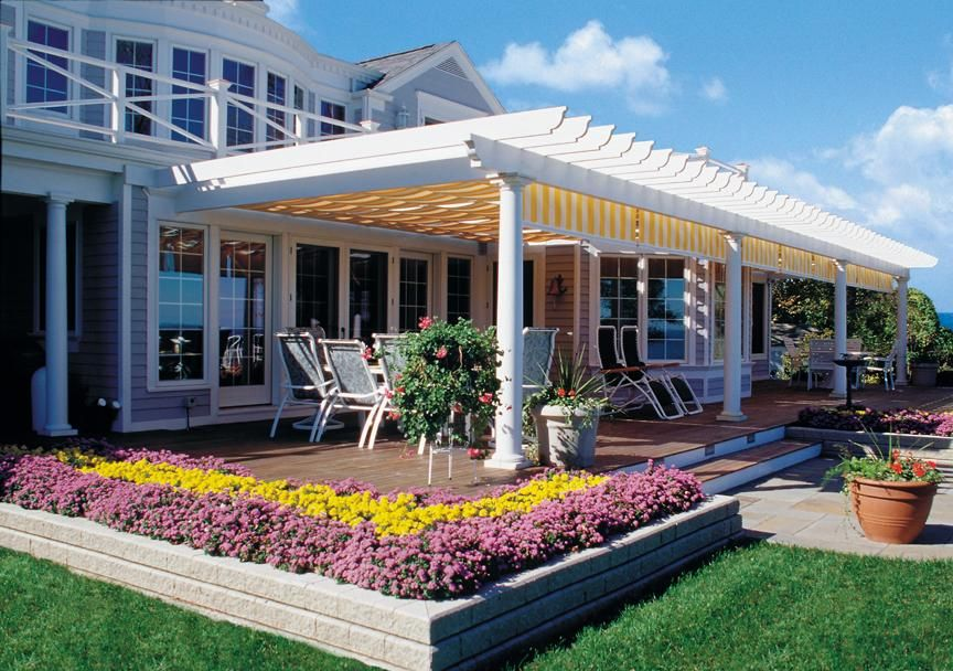Backyard Covered Patios And Decks