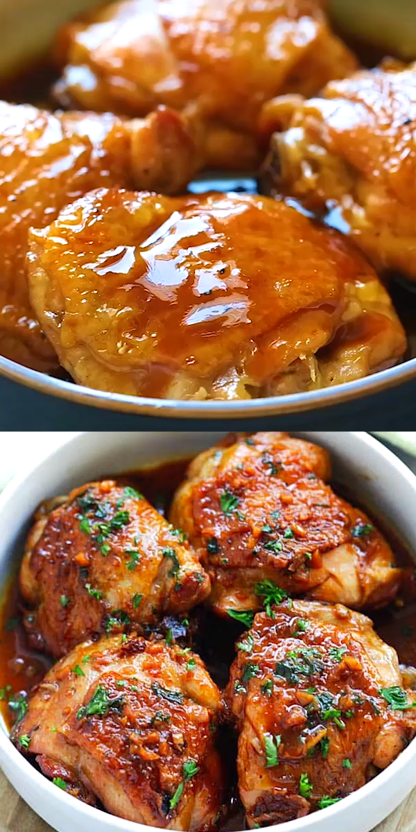Honey Garlic Chicken (Instant Pot)