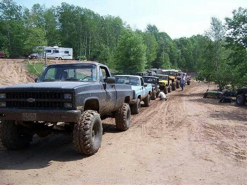 Trail ride! #chevytrucks!