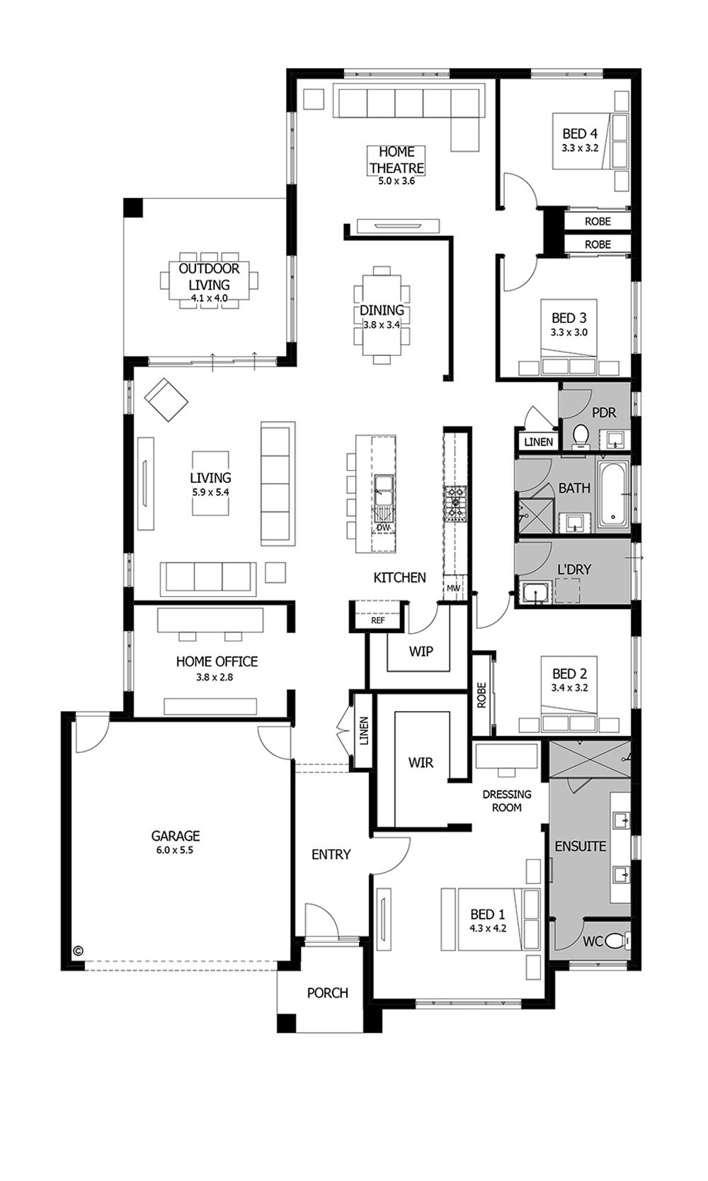 Boutique Homes Home Design Floor Plans Dream House Plans House Blueprints