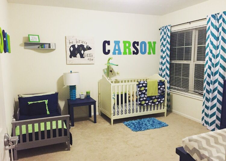 Shared Room For Our Toddler And Baby Boy Toddler And Baby Room
