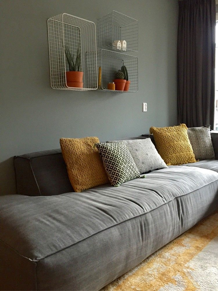 So Gemütlich Und Warm! Wir Sehen, Dass Maudhoeks Viel Liebe In Ihr Interior  G. Wohnzimmer CouchWohnzimmer IdeenModernes ...