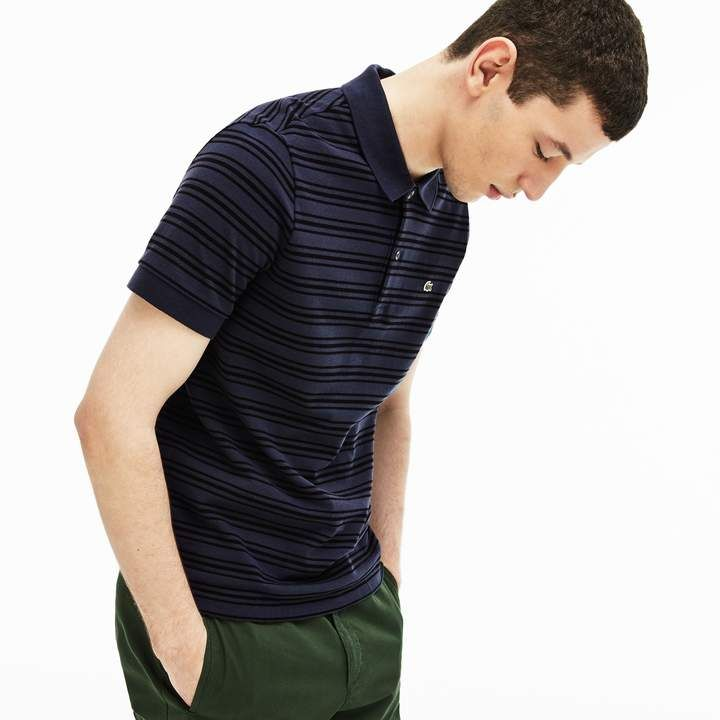 f947bf29 Men's Regular Fit Striped Cotton Petit Piqué Polo in 2019 | Products ...