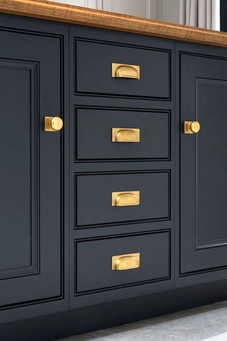 40 amazing navy kitchen cabinets for decorating your kitchen page 23 of 41 in 2020 navy on kitchen decor navy id=45449