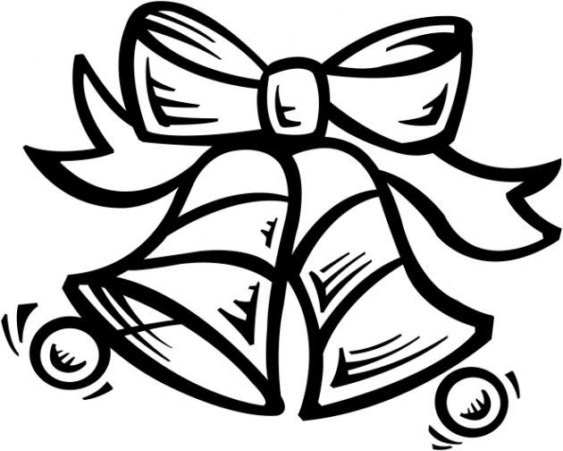 Campanas de navidad para colorear - Campanas de navidad ...