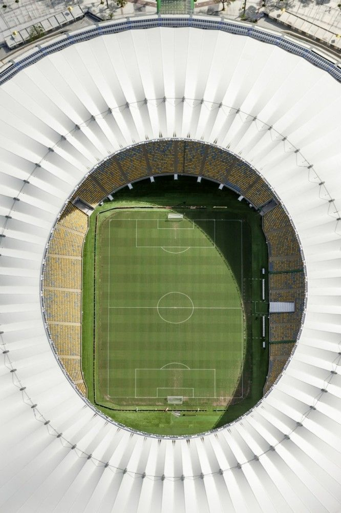 Gallery Of Maracana Stadium Roof Structure Schlaich Bergermann Und Partner 1 Maracana Stadium Soccer Stadium Stadium Design