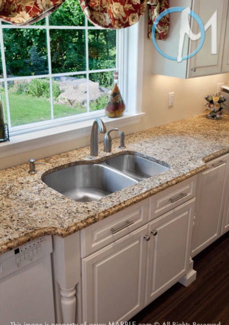 Ugly Granite Countertops So I Can Definitely Pull Off White Cabinets With The Ugly Granite
