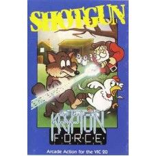 Shotgun for Commodore Vic 20 from Krypton Force on Tape