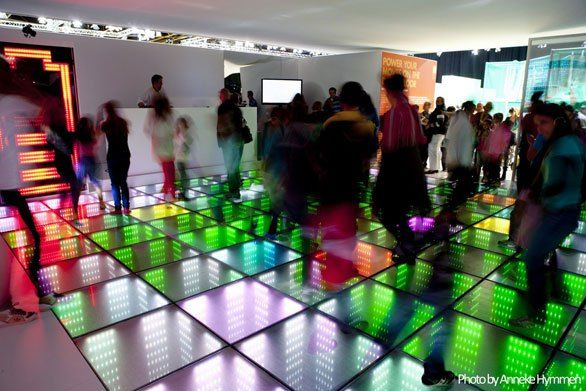 When Sidewalks And Dance Floors Become Energy Sources Interactive Installation Sustainable Energy Sustainability