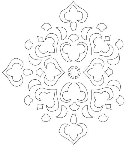 Free Stencil Templates for Walls | ... wall into a living room by ...