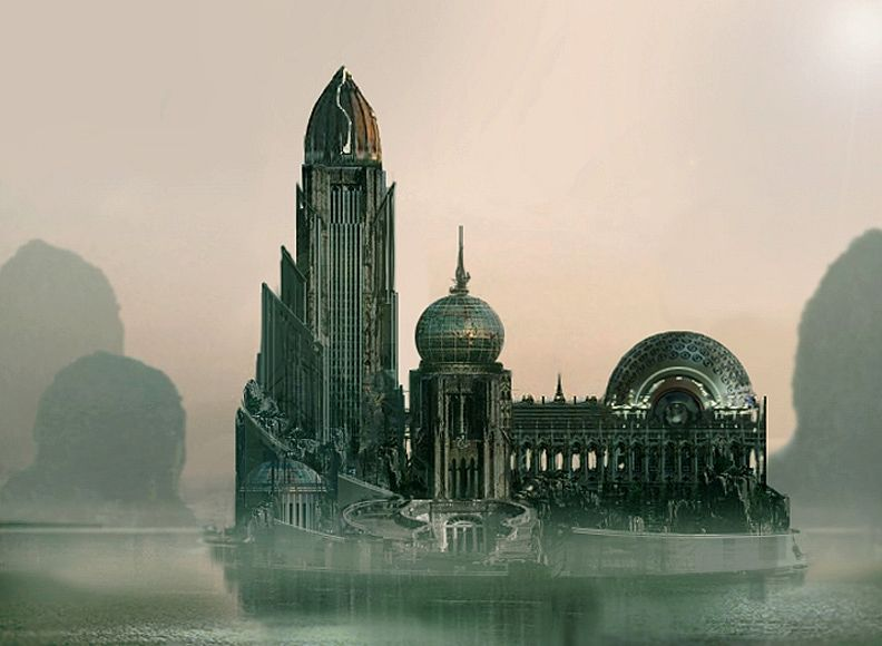 Stephan Martiniere - Uru house fog