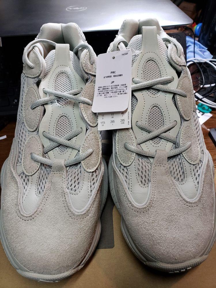 e1f9eeb5185 eBay  Sponsored Adidas Yeezy Boost 500 Salt Size 11.5 Men