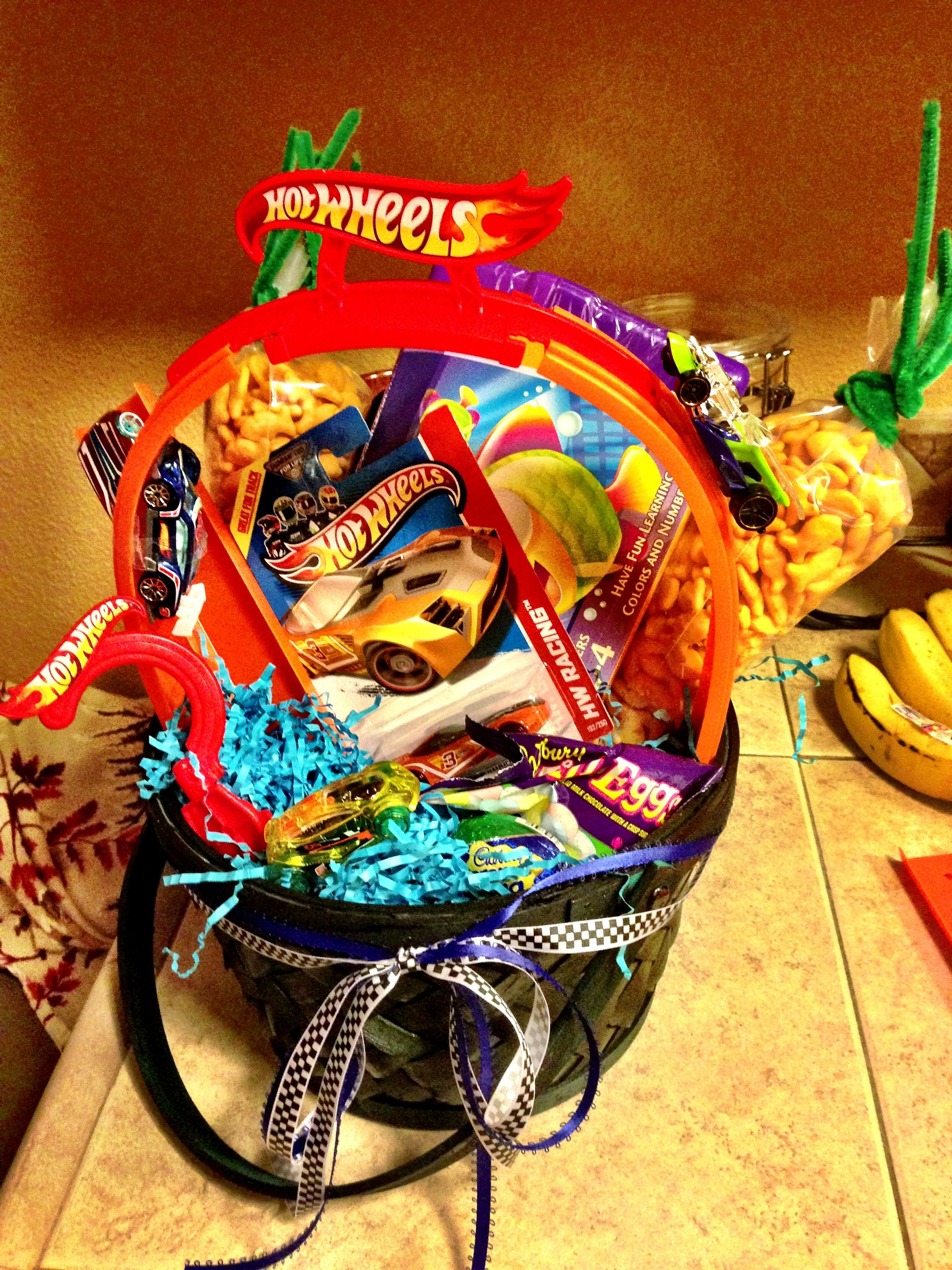 Hot wheels easter basket annie may pinterest easter baskets hot wheels easter basket negle Images