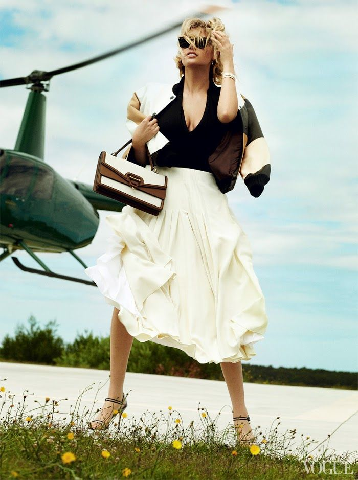 Kate Upton by Mario Testino | Vogue, June 2013