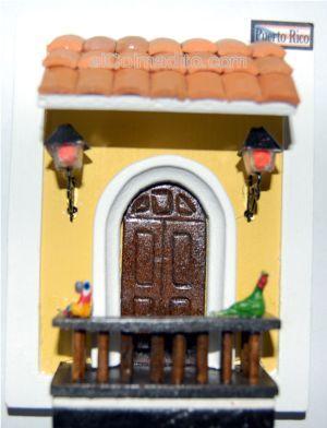 Puerto rico puerto rico home decorations puertorican arts fachadas casas artesanales - Pintar tejas de barro ...