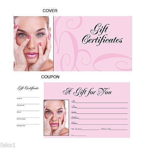 cool HAIR SALON GIFT CERTIFICATES BOOK numbered from 1-50   Check more at http://harmonisproduction.com/hair-salon-gift-certificates-book-numbered-from-1-50/