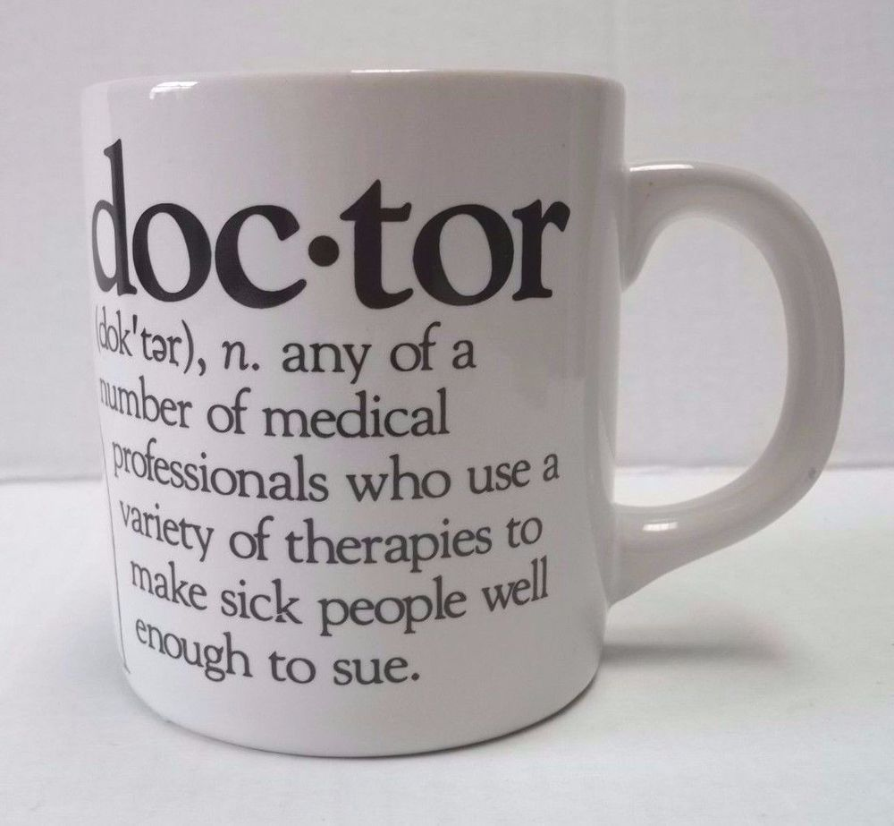 Worlds best doctor coffee mugs - Doctor Definition Coffee Mug Tea Cup Beard And Mckie 1988 Humorous Well Defined