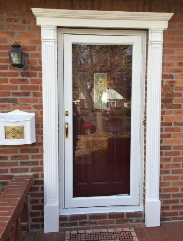 Good Exterior Door Trim Molding With Front Door Molding Ideas
