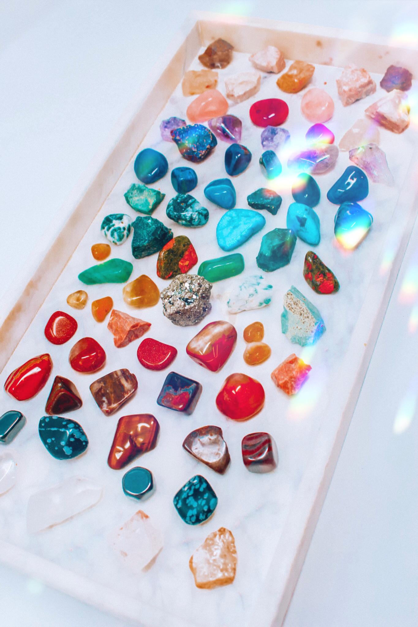 Spirit Stones Stone Crystals Healing Grids Raw Crystal Decor
