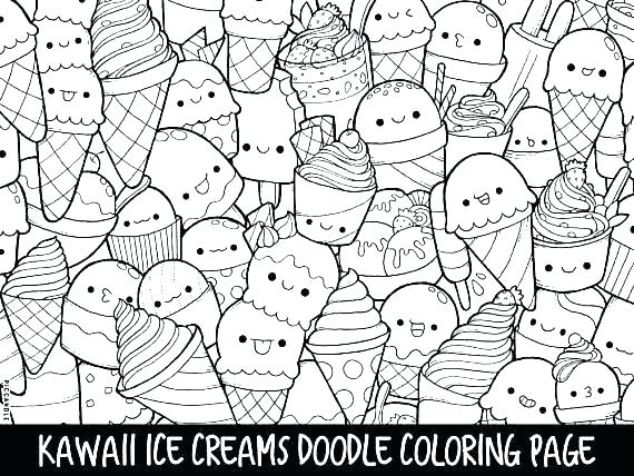 Coloring Pages Ice Cream Cute Coloring Pages Best Of Cute Coloring Pages For Ice Cream As Well Cream Doodle Coloring Cute Coloring Pages Mermaid Coloring Pages
