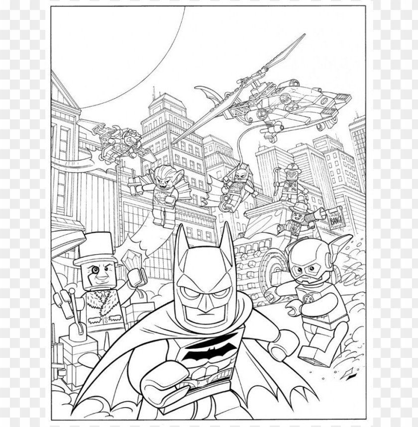 20 lego coloring pages in 2020