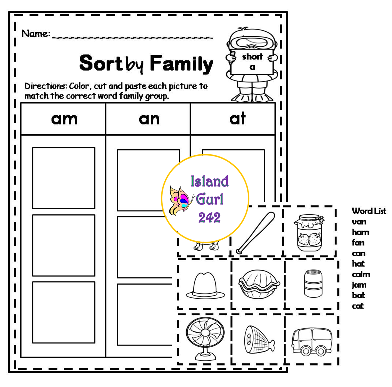 Short Vowels No Prep Worksheets With Images