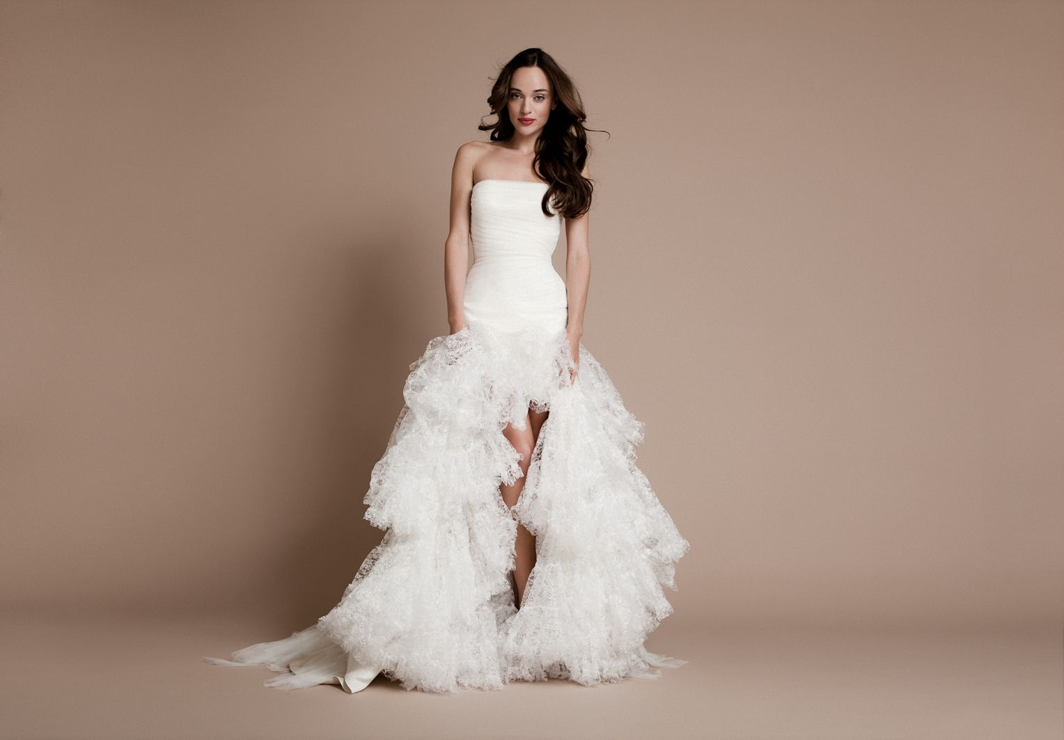 Shruthi In A Dreamy One Shoulder Pronovias Dress: Daalarna.com - Wedding Dresses - Forever - 165