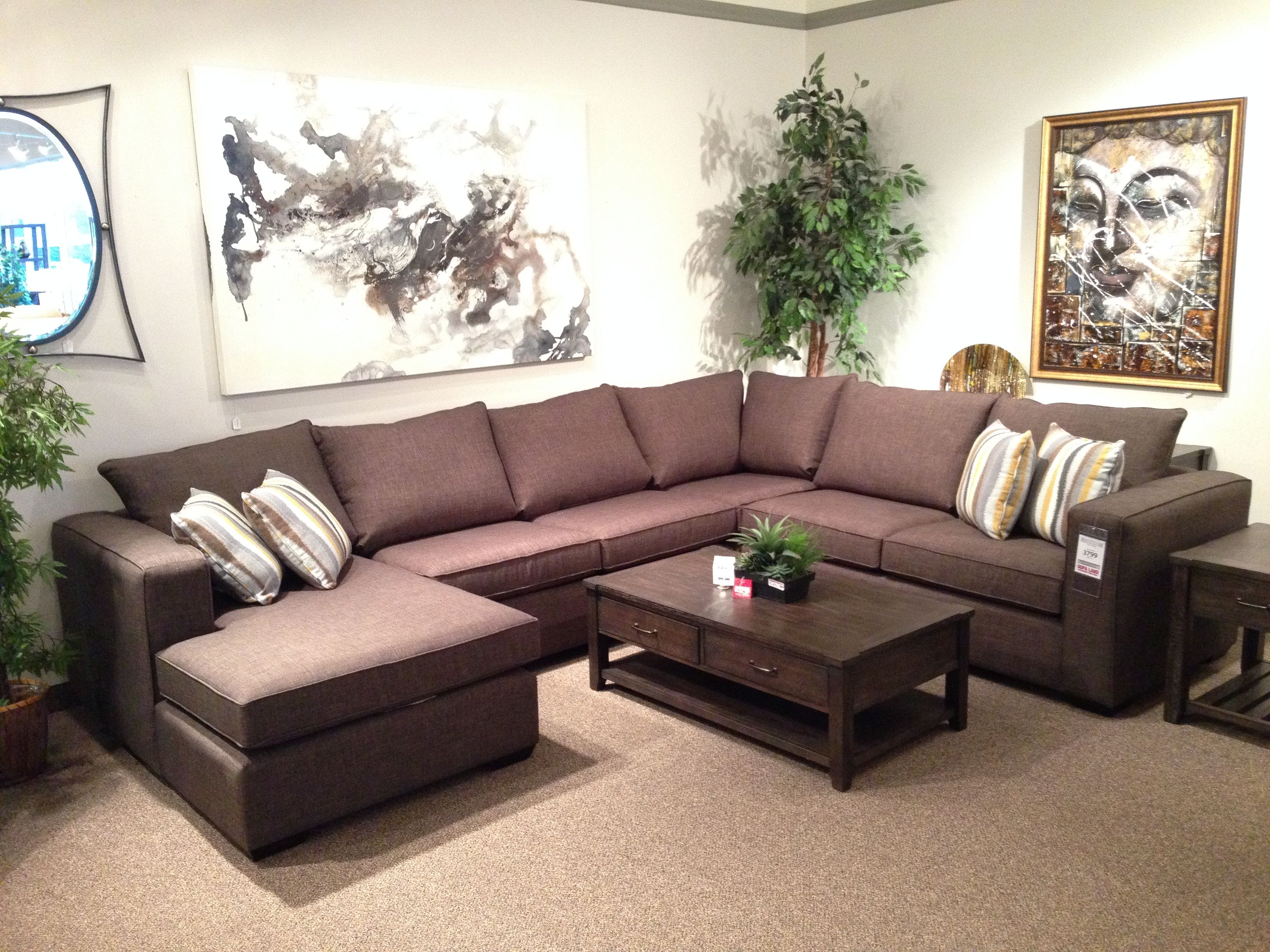 The Lonnie sectional has just arrived This piece features wide
