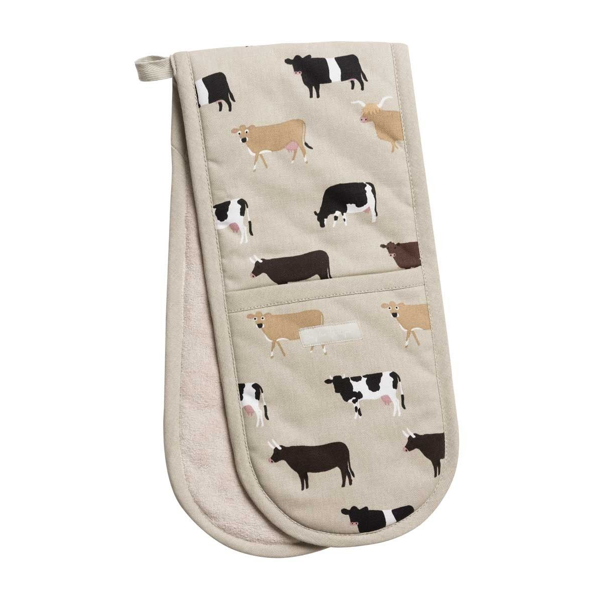 Cows Double Oven Glove Oven Glove Double Oven Cow