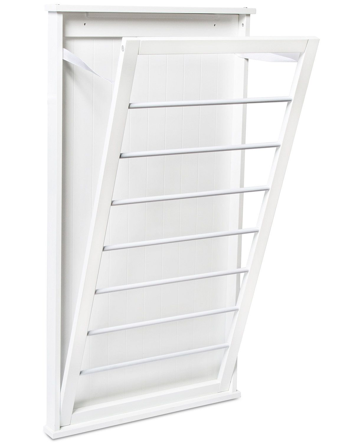 Vertical Wall Mount Drying Rack Wall Mounted Clothes Drying Rack