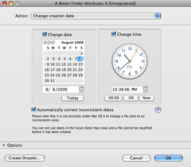 Changing the Creation Date of a File | Mac|Life | techie